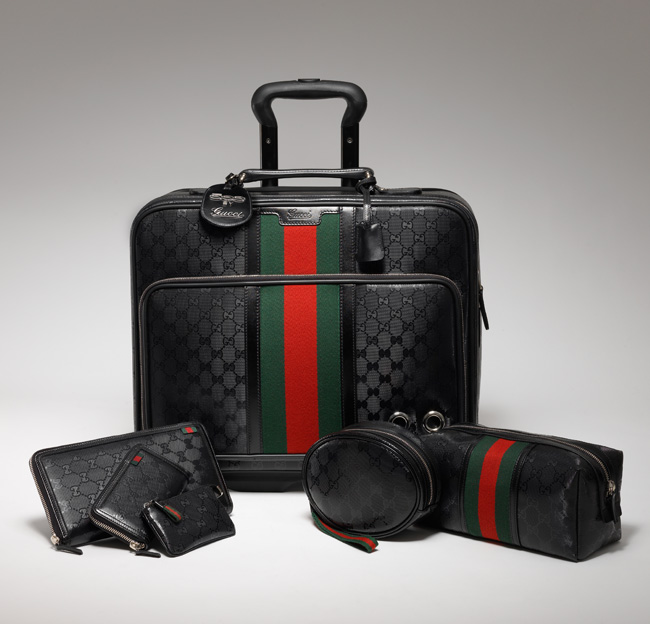 Gucci Fiat 500 complete travel set
