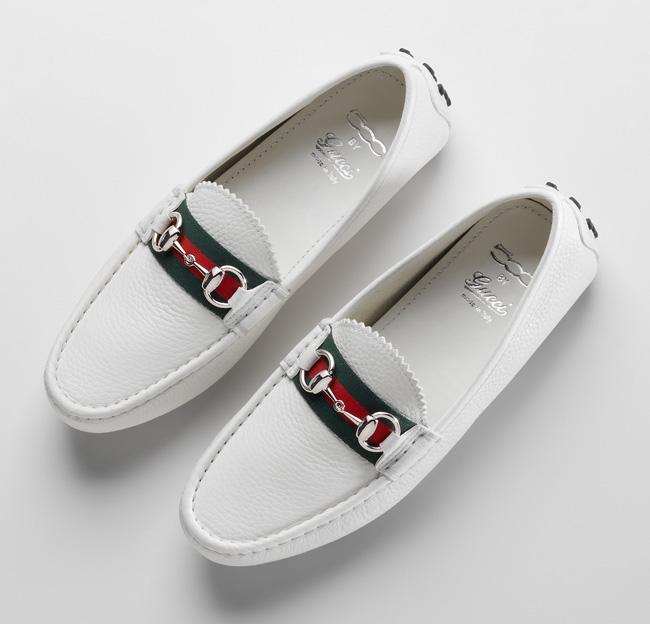 White Loafer Baseball Shoes