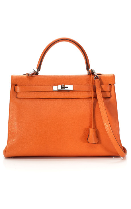 Hermes Orange H Kelly bag