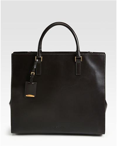 Jil-Sander-Madame-Frame-Tote-Bag-handbag trends - square tote bags