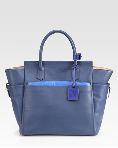 Reed Krakoff Atlantique Tote Bag in cobalt blue