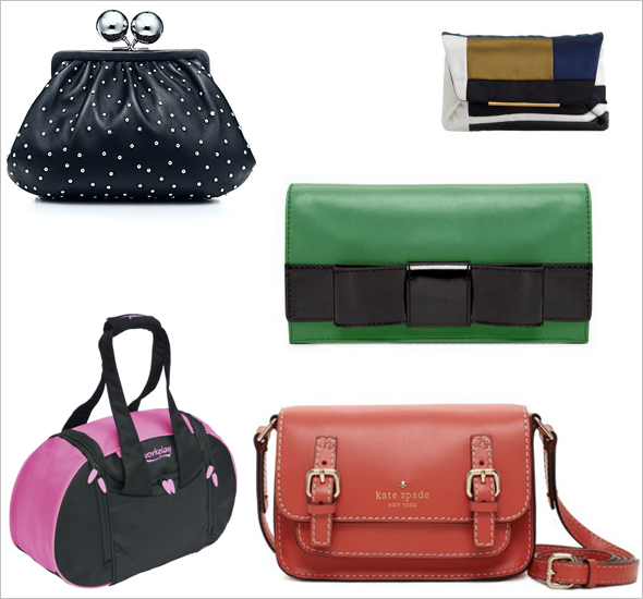 Tiffany & Co Lanvin Kate Spade handbags Goddess Gym bags