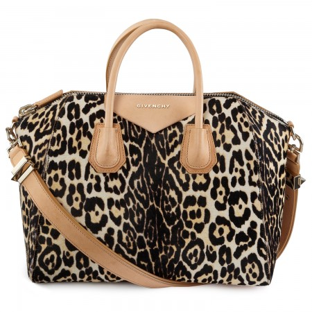 Givenchy Antigona leopard bag