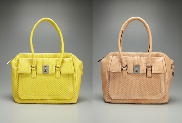 L.A.M.B. Maier Tote - in yellow and tan