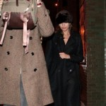 Ryan Gosling and Eva Mendes in NYC Salvatore Ferragamo Leather Tote Bag 3