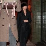 Ryan Gosling and Eva Mendes in NYC Salvatore Ferragamo Leather Tote Bag 4