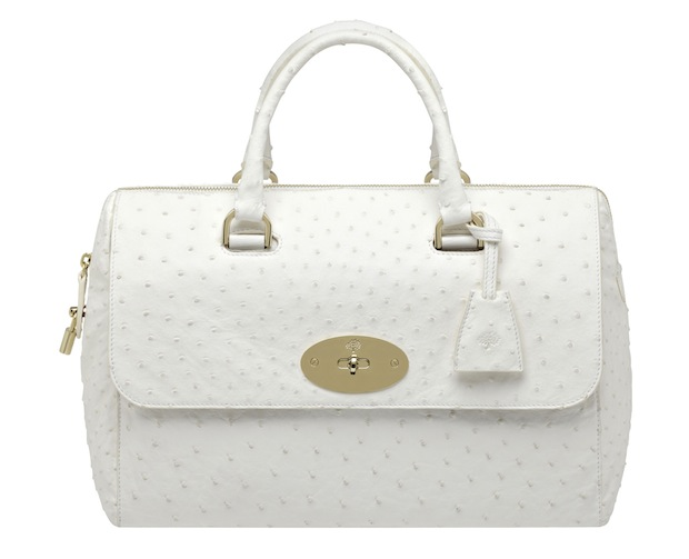 Mulberry Del Rey bag - White ostrich