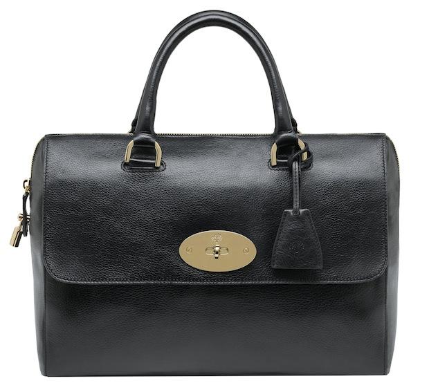 Mulberry Del Rey bag - Black leather
