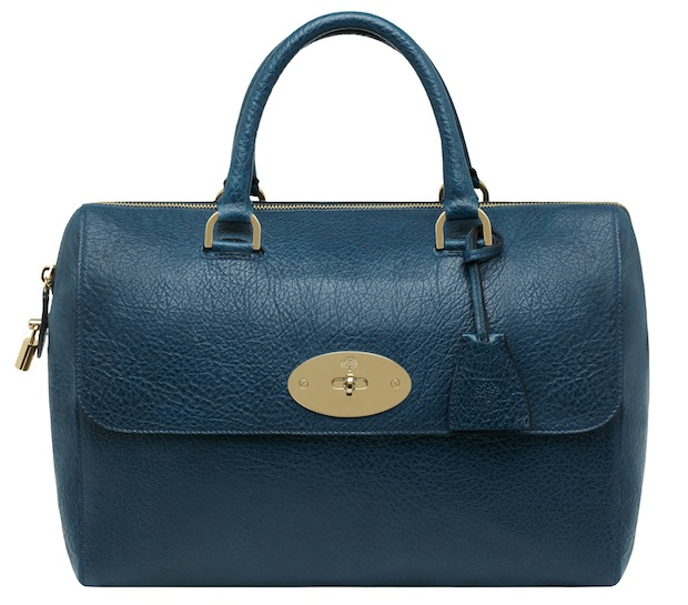 Mulberry Del Rey bag - Petrol vegetable-tanned lambskin