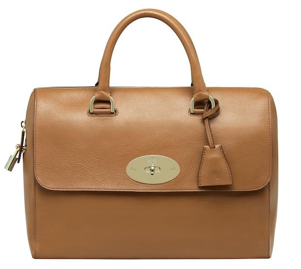 Mulberry Del Rey bag - Tan grain leather