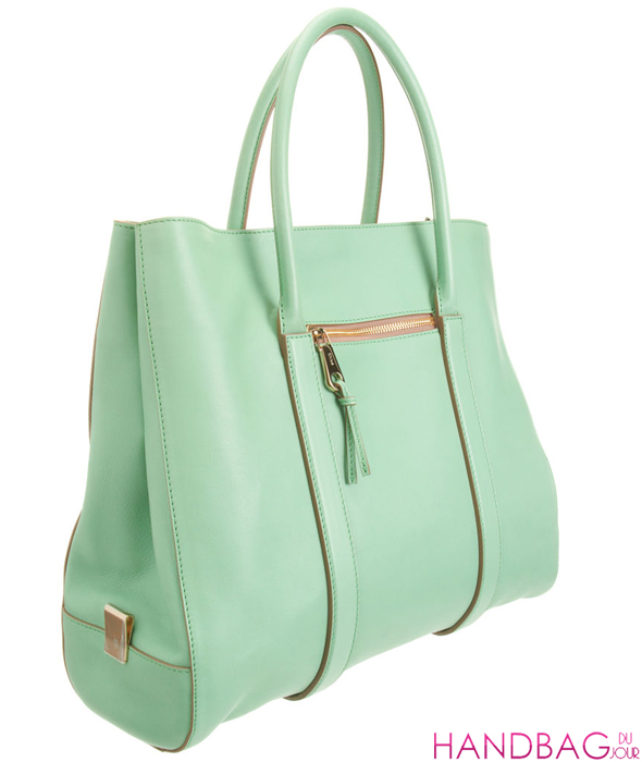 Chloé Madeleine Tote - 'Green tea' / mint green
