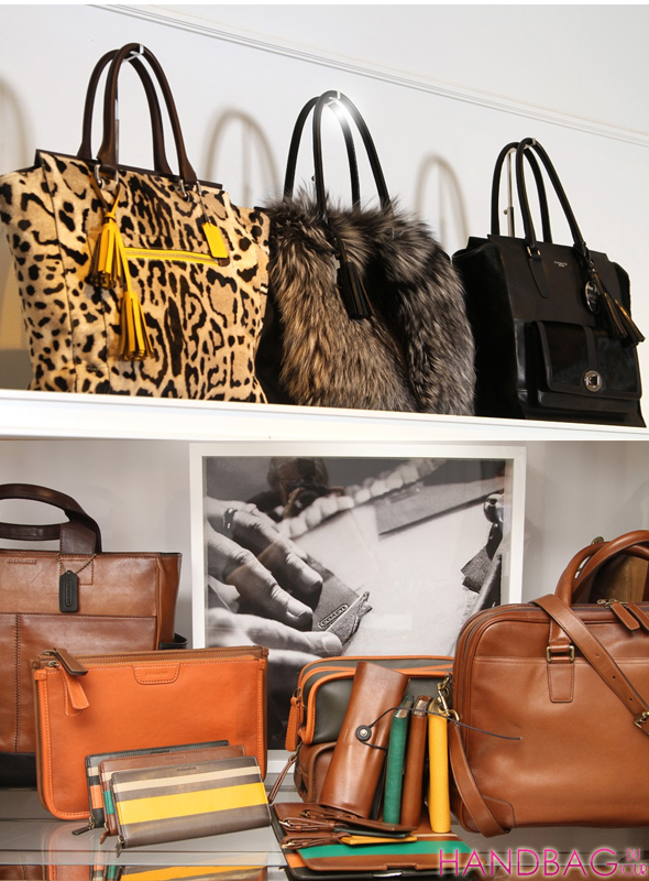 Coach The Legacy Collection - men's and women's leather bags