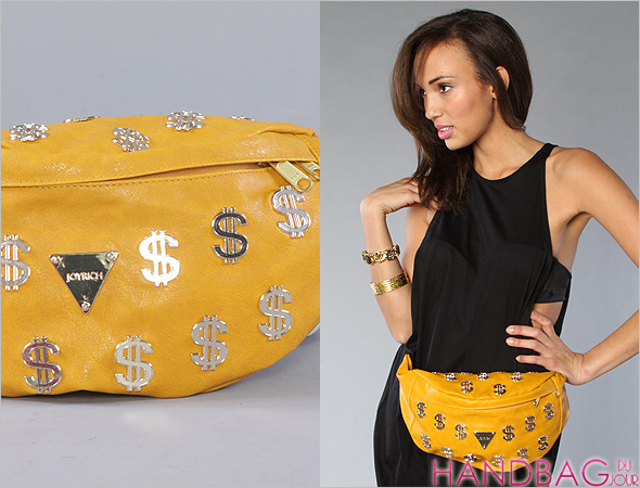 Joyrich The Cash Flow Fanny Pack bag - in mustard