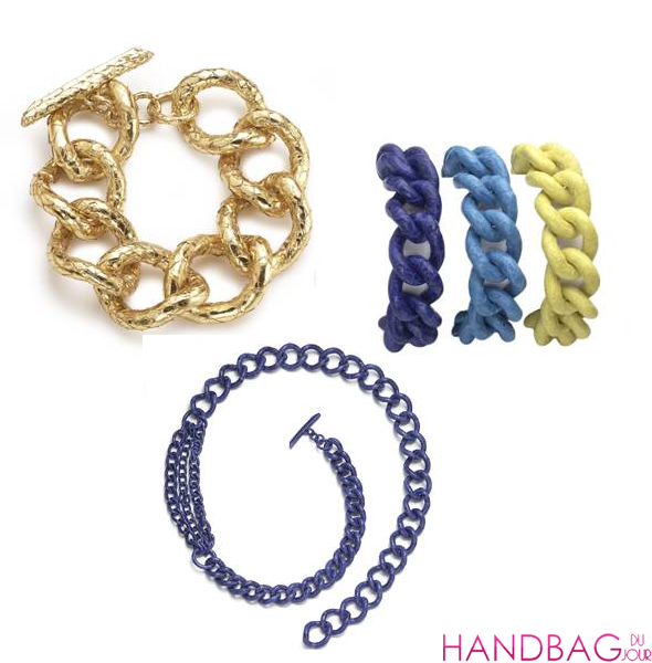 Nancy Gonzalez Limited Edition Chain Collection at Bergdorf Goodman - Colombian crocodile jewelry
