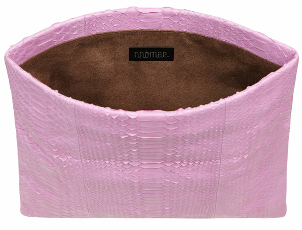 Nnomae Grace Clutch in Lavender Pink