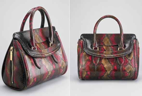 What do you think of these new.  Alexander McQueen Heroine Satchels.