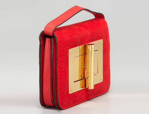 Splurge du Jour: Tom Ford Medium Peccary Natalia Bag - side view