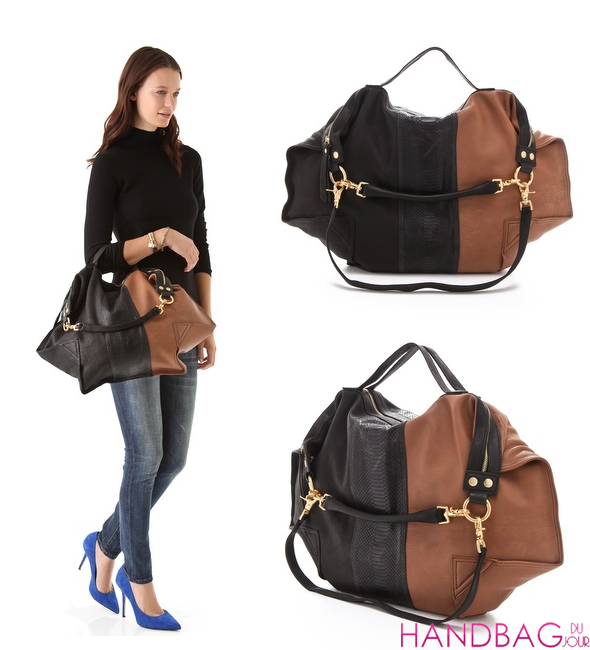 Haute bag of the week: Twelfth St. by Cynthia Vincent Dunnaway Colorblock Satchel