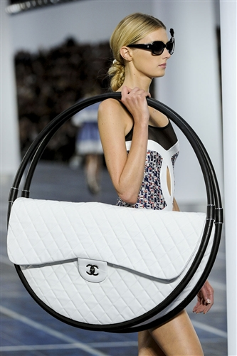 Chanel Hula Hoop beach bag