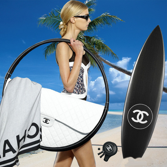 Chanel Hula Hoop beach bag, Paris Fashion Week, Spring/Summer 2013