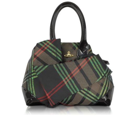 Vivienne Westwood Winter Tartan - Small Satchel Bag