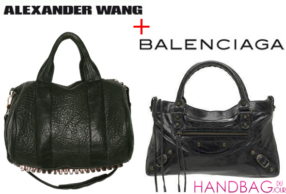 Alexander Wang - Balenciaga bags - what will they look like?