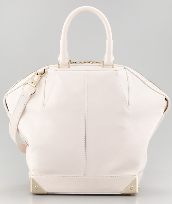 Alexander Wang Emile Small Dome Bag, Champagne