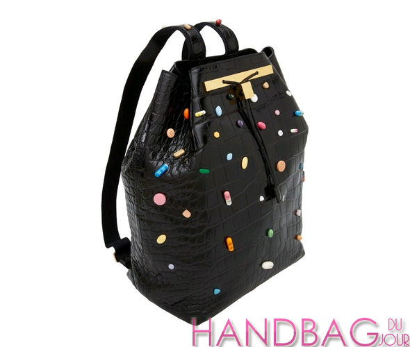 Damien Hirst and The Row prescription pill backpack