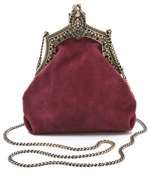 House of Harlow 1960 Rey Suede Bag
