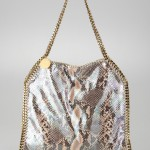 Stella McCartney Baby Bella Faux Python Tote Bag