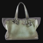 V73 bag in Ardesia green