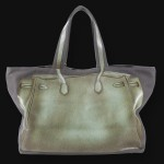 V73 bag in Ardesia green - back