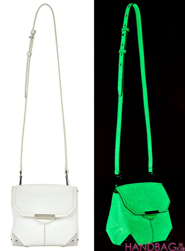 Alexander Wang GLOW IN THE DARK MARION WITH RHODIUM