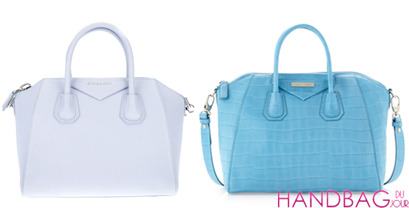 Bag the Look for Less: Givenchy Antigona & Charles Jourdan Aubrey Crocodile Embossed Leather Bag