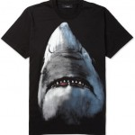 Givenchy Shark-Print Cotton-Jersey T-Shirt