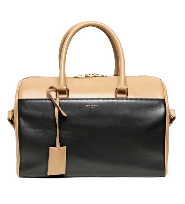 Saint Laurent Duffle beige/black two-tone