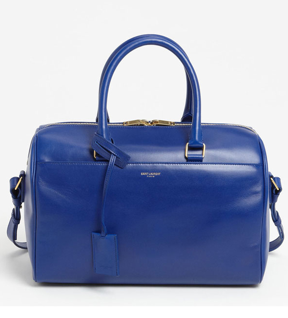 Saint Laurent Duffle Bleu France blue