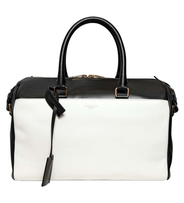 Saint Laurent Duffle white/black two-tone