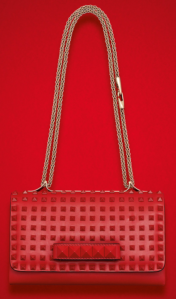 Valentino Rockstud Rouge Flap bag