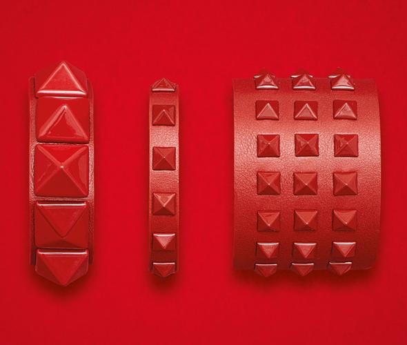 Valentino Rockstud Rouge bracelets