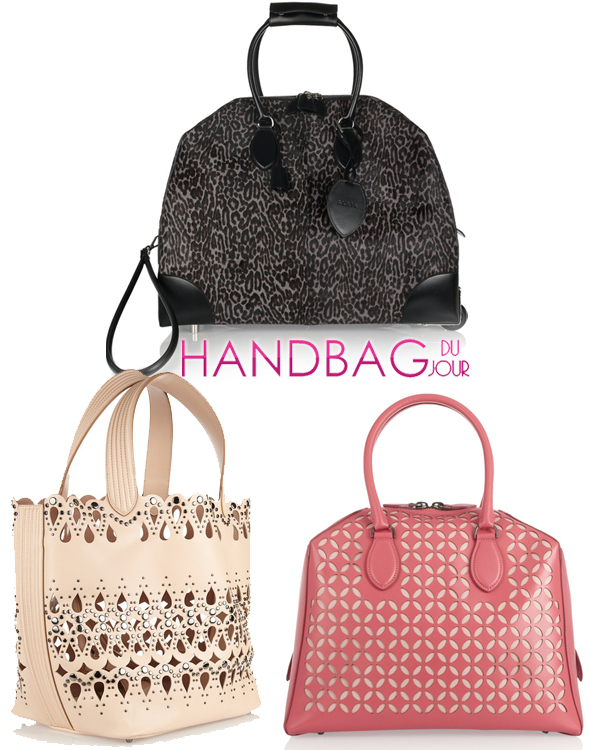 Alaïa handbags on sale at the Outnet