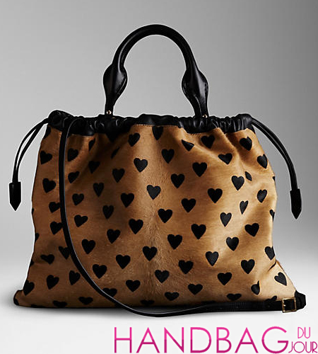 Splurge du Jour: Burberry The Big Crush in Heart Print Calfskin