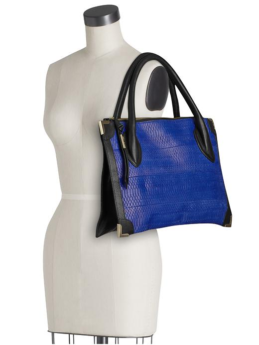 Haute bag of the week: Foley + Corinna Framed Satchel side view