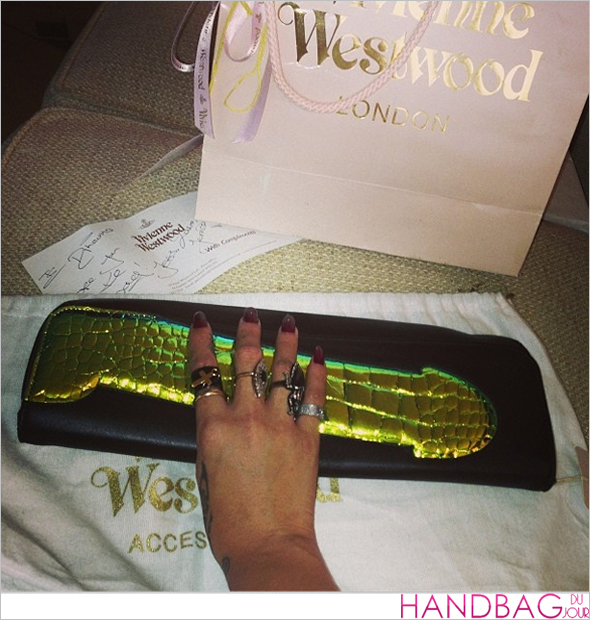 Rihanna's got a brand new bag: Vivienne Westwood Cock clutch