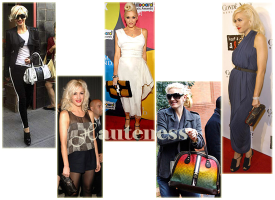 The Many L A M B Bags Of Gwen Stefani Handbag Du Jour