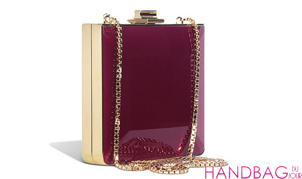 Salvatore Ferragamo Dolly Minaudiere In Deep Fuchsia