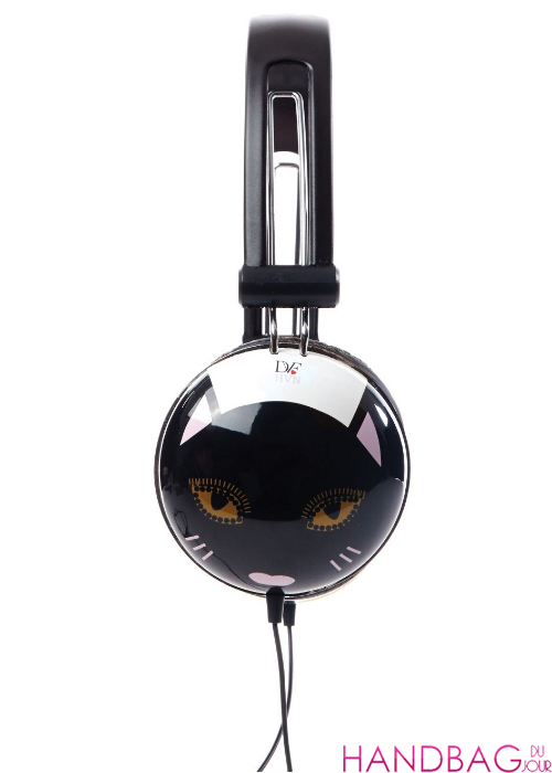 DVF loves Harley Viera-Newton Cat Headphones
