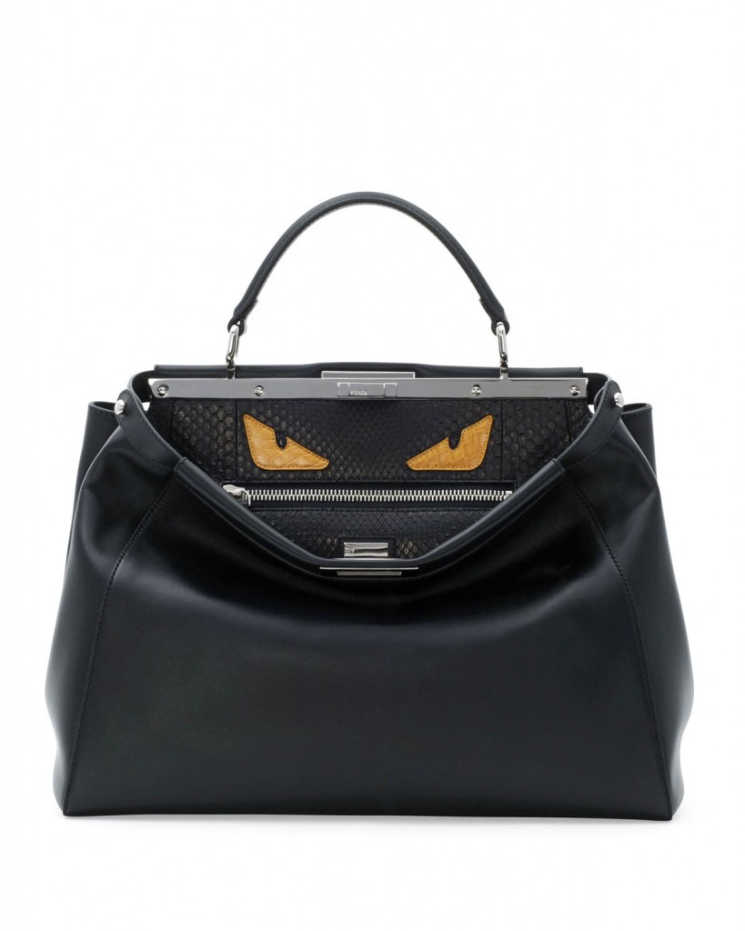 'Buggin' out' over Fendi's Monster Eyes Peekaboo Bag
