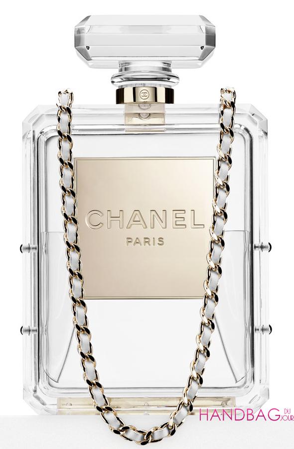 Chanel No.5 Bottle Bag - transparent
