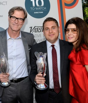 John Lee Hancock, actors Jonah Hill and Marisa Tomei at Variety's Creative Impact Awards and 10 Directors to Watch brunch